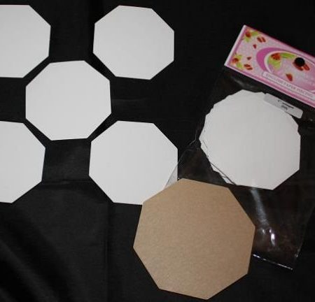 Sue Daley Paper Piecing + Kunststof Mal Octagon 1 inch
