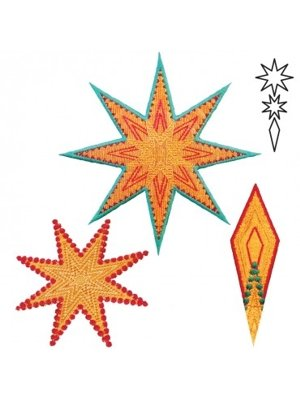 Accuquilt stansvorm snijmal 55315 Eight Pointed Star