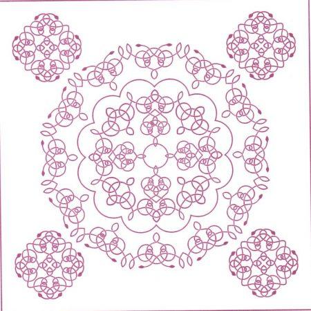 Quilting Creations Quilt Sjabloon Celtic Rose Window Keltische Roos GD 1004