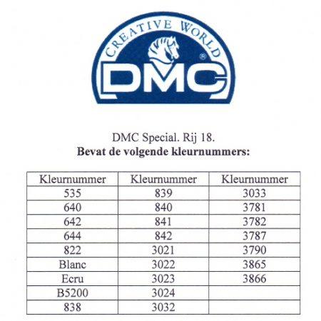 Borduurgaren. DMC Mouliné Special 117. Deze DMC splijtzijde bestaat per kleur uit strengen van 8 meter lengte. Wij leveren alle kleurnummers.
