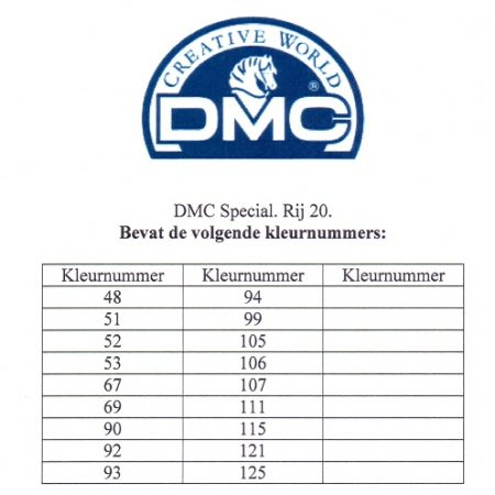 Borduurgaren. DMC Mouliné Special 117. Te splitsen in 6 draden
