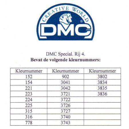 Borduurgaren. DMC Mouliné Special 117. Te splitsen in 6 aparte draadjes