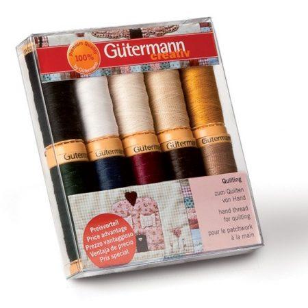 Gutermann hand naaigaren assortiment quilting. Voor quilten met de hand