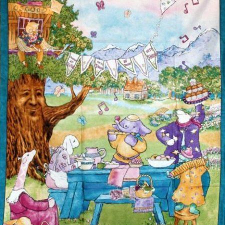 Quiltpanel Best show Feestelijke picknick