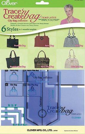 Clover 9501 City Bag Tassenmal blauw. Merk: Clover