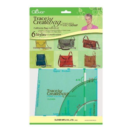 Clover 9509 California Bag Tassenmal groen. Merk: Clover