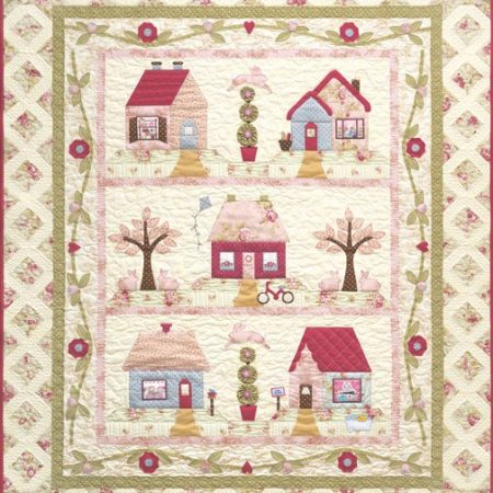The Quilt Company Quiltpatroon Cottage Charm Charme van kleine