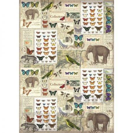 Vilt Decor Collection 30 Olifanten en Vlinders e.a.