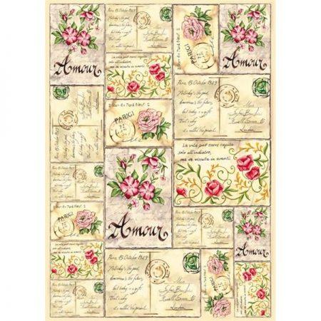 Vilt Decor Amour 04 Bloemenmotieven en Ansichtkaarten