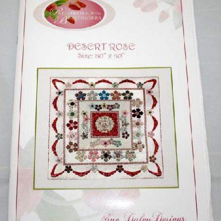 Sue Daley Quiltpatroon Desert Rose Woestijnroos