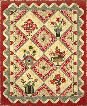 The Quilt Company Quiltpatroon Forever Flowers Altijd Bloemen