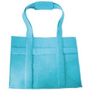 Wolvilt van het merk La Fourmi. Mooie wolvilten tas. Kleur: Turquoise