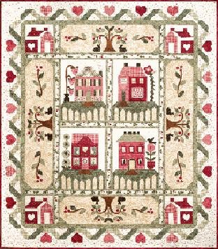 The Quilt Company Quiltpatroon Heart and Home Hart en Huis