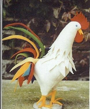 Viltpakket van De Witte Engel. Compleet. De haan Hercules