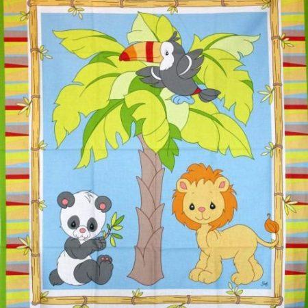Quiltpanel Jungle