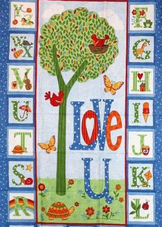 Quiltpanel Love you