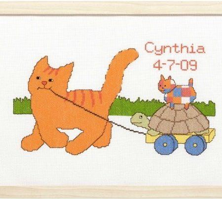 Pako Borduurpakket Dikkie Dik Aida Geboortetegel Cynthia