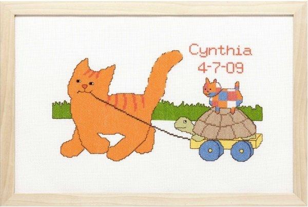 Pako Borduurpakket Dikkie Dik Aida Geboortetegel Cynthia 272001