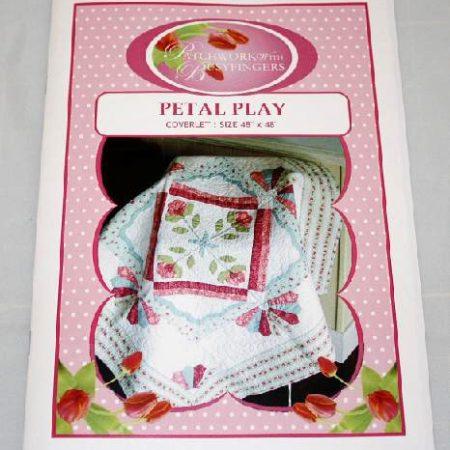 Sue Daley Quiltpatroon Petal Play