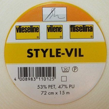Vlieseline Style-Vil foam. Door de foamlaag blijft uw project goed in model.