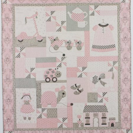 Bunny Hill Designs Quiltpatroon Sugar and Spice. Quiltpatroon in 9 delen