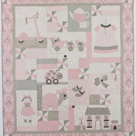 Bunny Hill Designs Quiltpatroon Sugar and Spice. Quiltpatroon in 9 delen