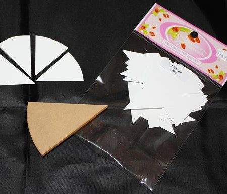 Sue Daley Paper Piecing + Kunststof mal Pie 1 3/4 inch