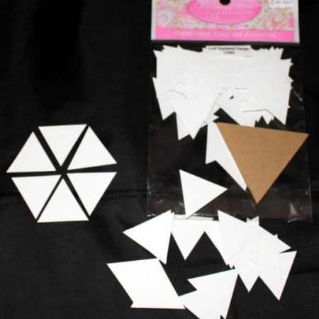 Sue Daley Paper Piecing + Kunststof mal Equilateral Triangle 1 1/4 inch