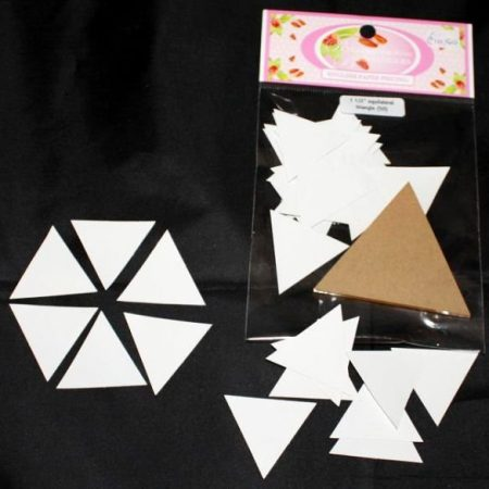 Sue Daley Paper Piecing + Kunststof mal Equilateral Triangle 1 1/2 inch