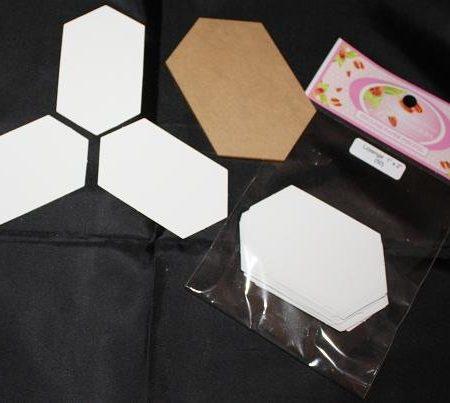 Sue Daley Paper Piecing + Kunststof mal Lozenge 1 x 2 inch