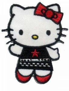 Hello Kitty/Smurfjes Strijkapplicaties
