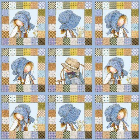 Quiltstof katoen Holly Hobbie 24074. Merk: SPX Fabrics