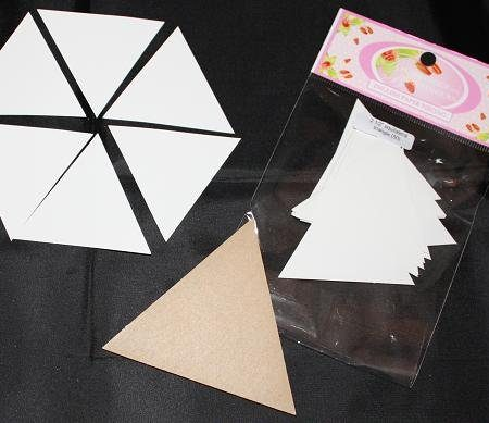 Sue Daley Paper Piecing + Kunststof mal Equilateral Triangle 2 1/2 inch