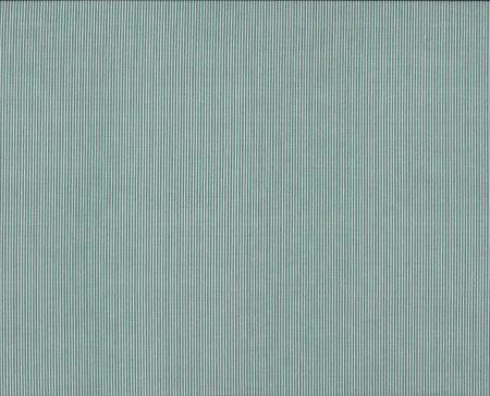 Basis quiltstof katoen streep blauw-groen 6048BG. Merk: Makower UK