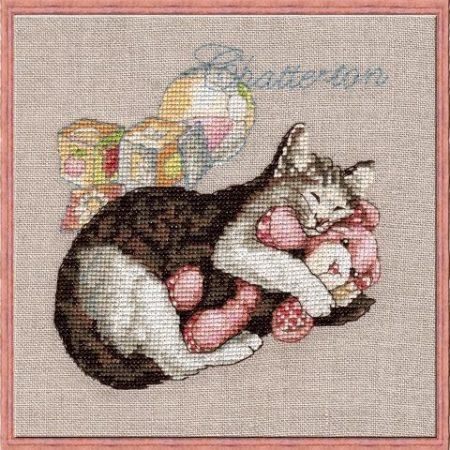 Borduurpatroon van het merk Nimuë. Onderwerp: Kat Chatterton 117