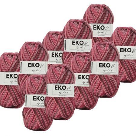 Ekofil Brei- en haakgaren 100% polyacryl 311. Gemeleerd haakgaren