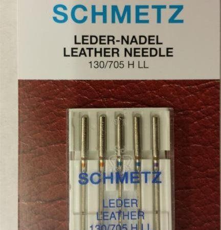 Schmetz Naaimachinenaalden Leer assortiment 130/705 H LL. Set van 5