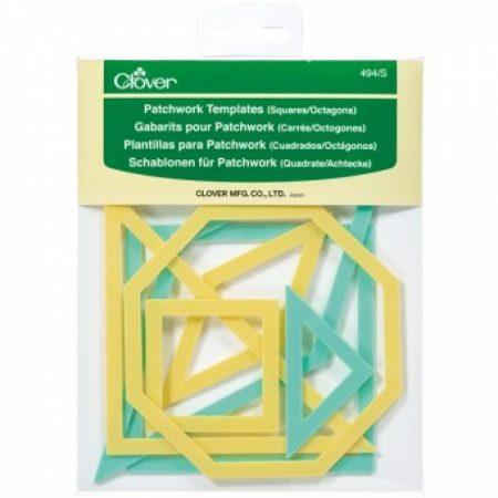Clover 494/S Quiltmallen patchwork mallen octagon
