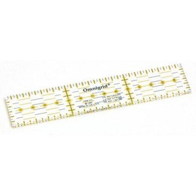 Omnigrid liniaal. Merk: Prym. Afmetingen: 3 x 15 centimeter