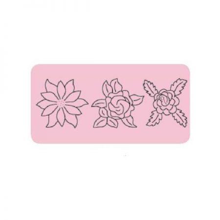 Prym 610105 Quilt Sjabloon Flowers Bloemen. Bevat 3 bloemenmotieven