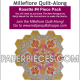 Katja Marek Rosette 4 Paper piece pack Millefiore Quilt-Along