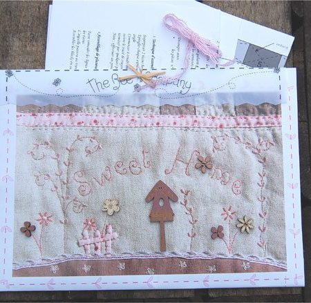 The Bee Company Quiltpatroon Sweet Home Oost West Thuis Best