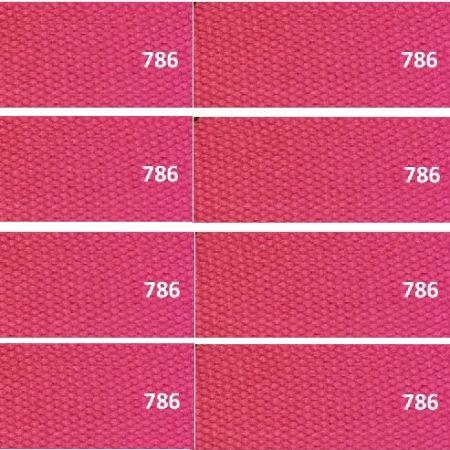 Tassenband of Keperband Roze. Extra stevig tassenband