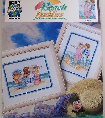 True Colors Borduurpatroon Beach Buddies Strand Vrienden BCL-10106