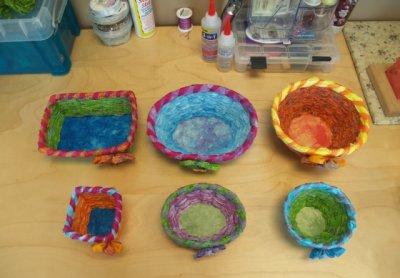 Clover Clam Shells en Basket Frames