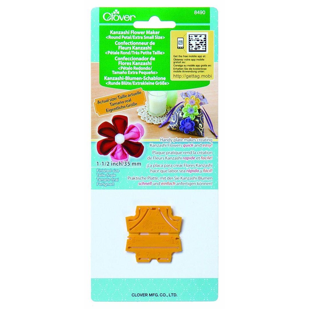 Clover 8490 Kanzashi Flower Maker Bloemenmaker Round Petal Extra
