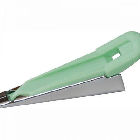 Fusible web tape Biaisbandmaker. Groen Voor 6 mm opstrijkbaar biaisband