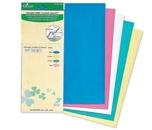 Clover 434 Kopie carbon papier. Inhoud: 5 vellen papier