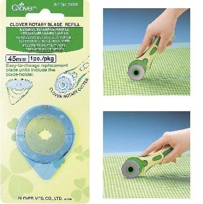 Clover 7508 Navulling Rotary Cutter Snij- en rolmes 45 mm
