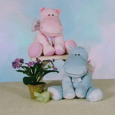 Naaipatroon Cotton Ginnys little hippo jong nijlpaard